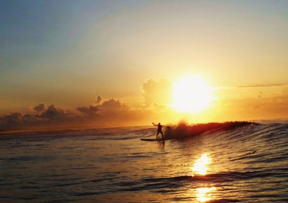 SUP サンライズサーフィン
